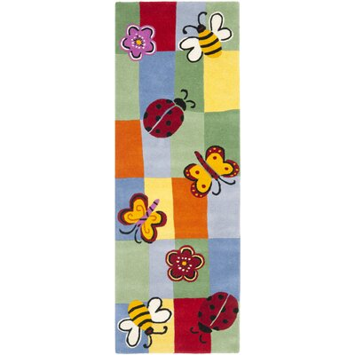Claro Plaid Multi Rug Rug Size: Runner 23 x 7
