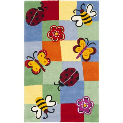 Claro Plaid Multi Rug Size: 4 x 6