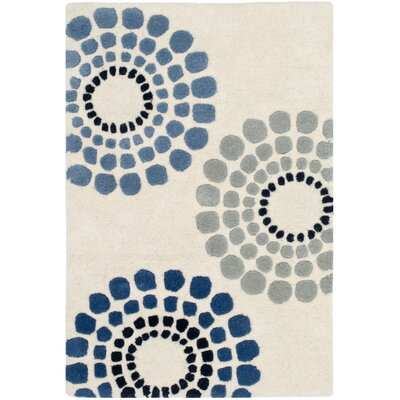 Holder Ivory Rug Rug Size: Rectangle 76 x 96