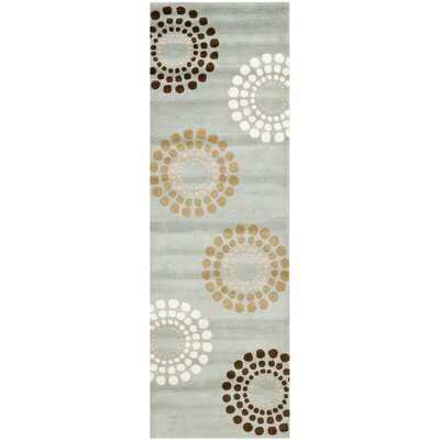 Soho Blue / Multi Rug Rug Size: Runner 26 x 8