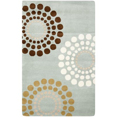 Soho Blue / Multi Rug Rug Size: Rectangle 5 x 8