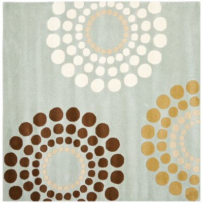 Soho Blue / Multi Rug Rug Size: Square 6
