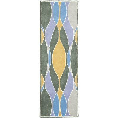 Soho Dark Multi Contemporary Rug Rug Size: Runner 26 x 8