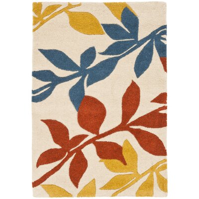 Soho Light Beige / Multi Contemporary Rug Rug Size: Scatter / Novelty Shape 2 x 3