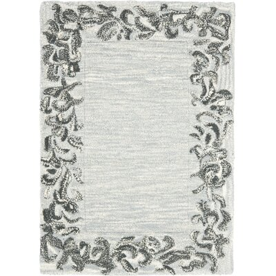 Soho Silver / Grey Contemporary Rug Rug Size: Scatter / Novelty Shape 2 x 3