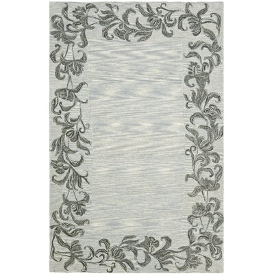 Soho Silver / Grey Contemporary Rug Rug Size: Rectangle 5 x 8