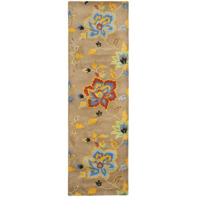 Soho Dark Light Brown / Multi Contemporary Rug Rug Size: Runner 26 x 8