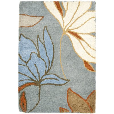 Soho Blue / Dark Light Multi Contemporary Rug Rug Size: Scatter / Novelty Shape 2 x 3