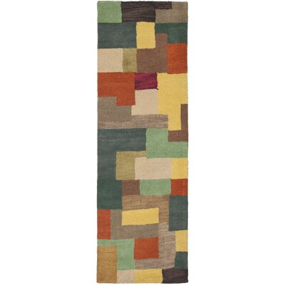 Soho Multi Contemporary Rug Rug Size: Runner 2'6