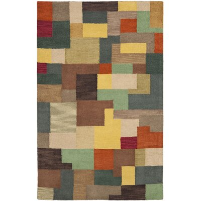 Soho Multi Contemporary Rug Rug Size: Rectangle 5 x 8