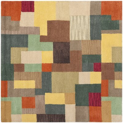 Soho Multi Contemporary Rug Rug Size: Square 6