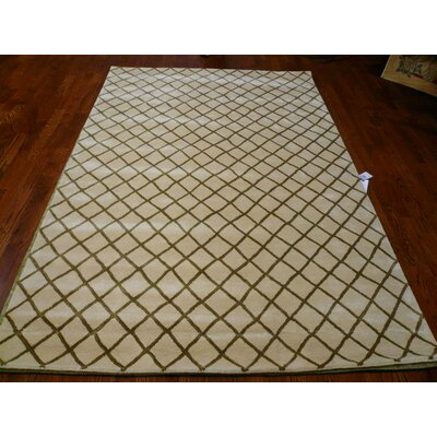 Soho Beige / Multi Contemporary Rectangular Rug Rug Size: 6 x 9