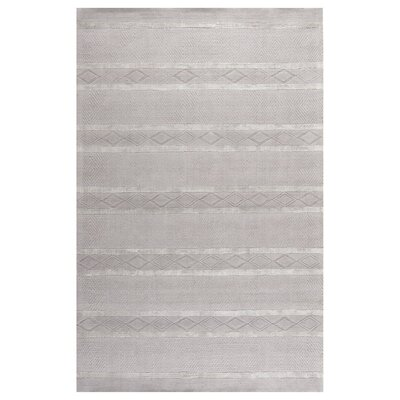 Soho Light Grey Area Rug Rug Size: 36 x 56