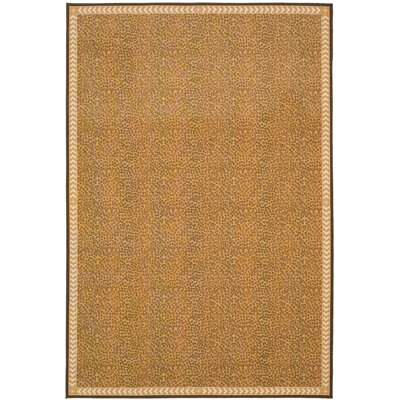Metropolis Camel/Brown Rug Rug Size: Rectangle 33 x 5