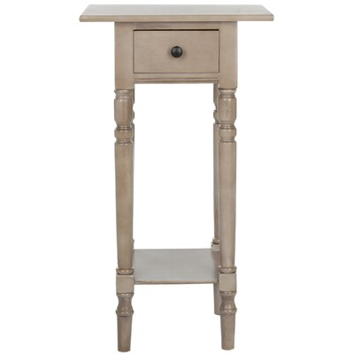 Credit for Donna 1 Drawer Nightstand Color: Vi...