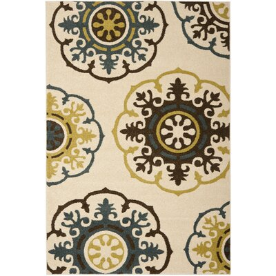 Newport Ivory Area Rug Rug Size: Rectangle 8 x 10