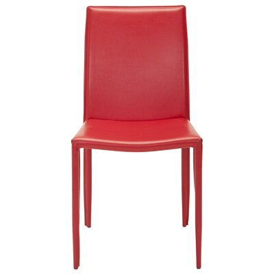 No credit financing Ken Side Chair (Set of 2) Upholster...