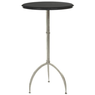 Crystal End Table Finish: Black/ Silver