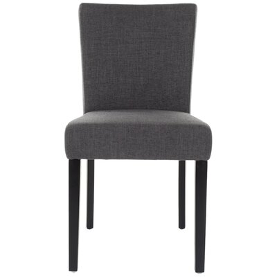 Mavis KD Parsons Chair Upholstery: Grey