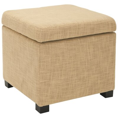 Madison Storage Ottoman Upholstery: Gold