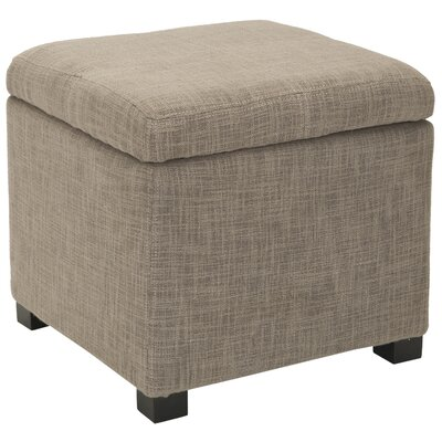 Madison Storage Ottoman Upholstery: Stone