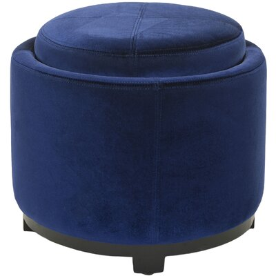 Lila Ottoman Color: Royal Blue image