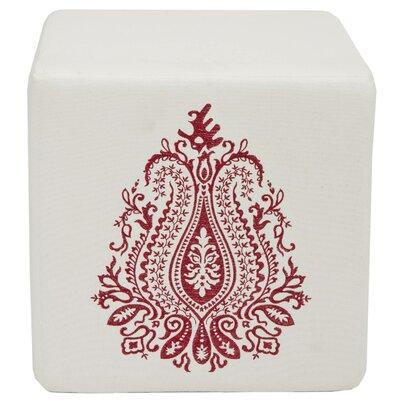 Ivy Tulip Cube Ottoman
