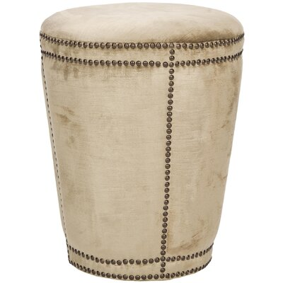 Baylee Ottoman Color: Antique Beige image