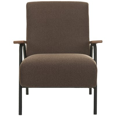 Drew Armchair Color: Brown