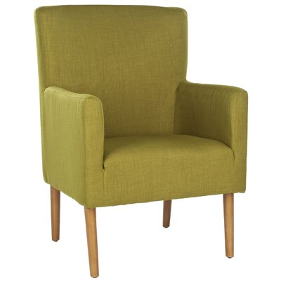 James Armchair Upholstery: Sweet Pea Green
