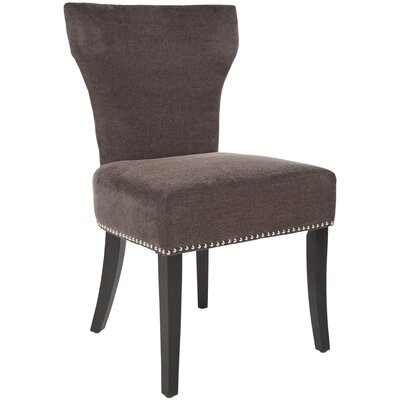 Maria Side Chair Upholstery: Polyester - Brown