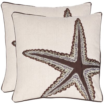 Richard Cotton Throw Pillow