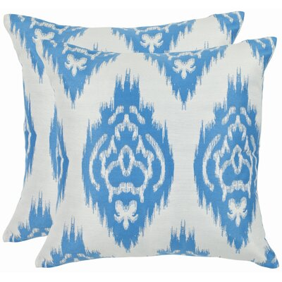 Grant Cotton Throw Pillow Size: 18 H x 18 W