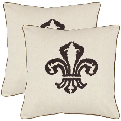 Allie Cotton Throw Pillow