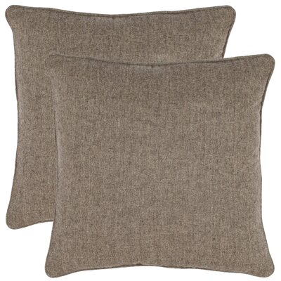 Hazel Throw Pillow Color: Grey
