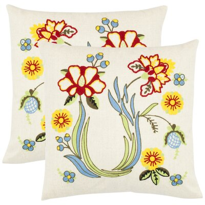 Kiara Cotton Throw Pillow