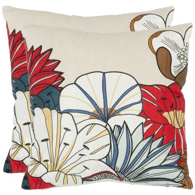 Leland Cotton Throw Pillow