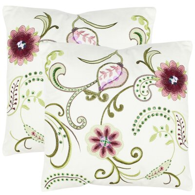 Esmeralda Cotton Throw Pillow