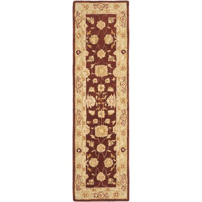 Anatolia Red/Sage Area Rug Rug Size: Runner 23 x 12