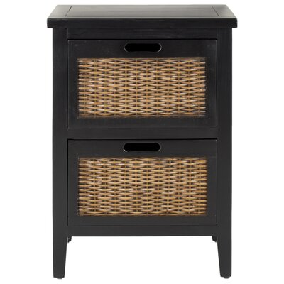 Loan for furniture Jonah 2 Drawer Nightstand Finish: B...