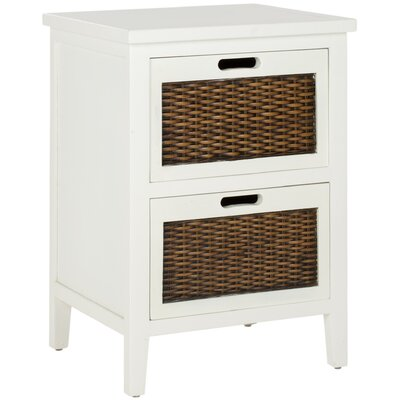 In store financing Jonah 2 Drawer Nightstand Finish: W...