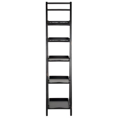 Asher 71 Leaning Bookcase