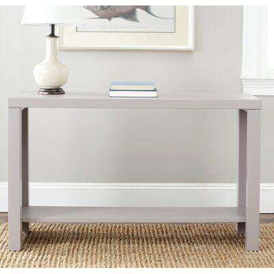 Easy financing Lahoma Console Table Finish: Grey...