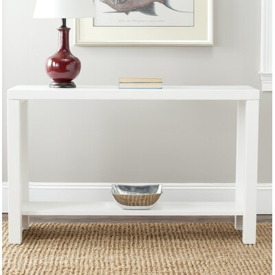 Lease to own Lahoma Console Table Finish: White...