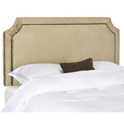 Bad credit financing Shayne Headboard Color: Olive Green...