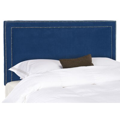 Loan for furniture Cory Queen Headboard Color: Blue...