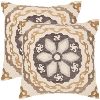 Thea Throw Pillow Size: 18 x 18