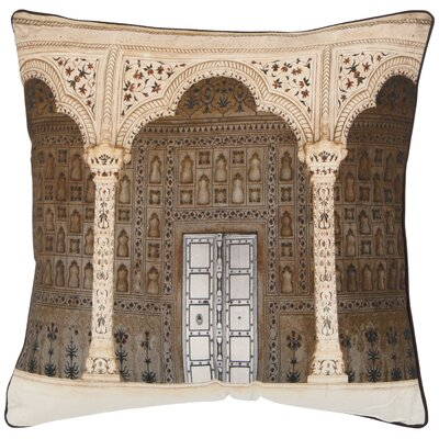 Novara Decorative Cotton Throw Pillow Size: 18 x 18