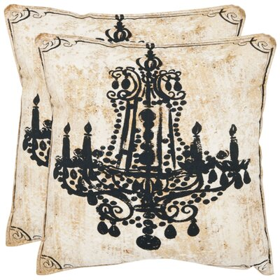 Velleron Cotton Throw Pillow Size: 18 x 18