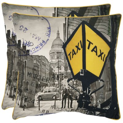 Belgrade Cotton Throw Pillow Size: 18 H x 18 W